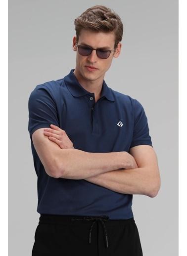 Lufian Jons Spor Polo T- Shirt  Lacivert